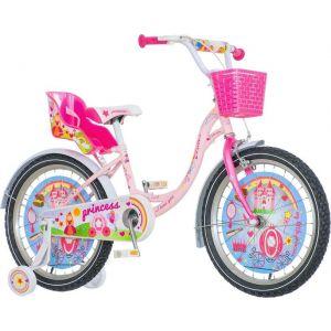 Bicikl VISITOR Princess 20 roza beli KONTRAŠ 2017 PRI200