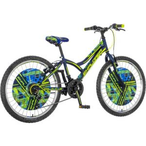 Bicikl EXPLORER Legion crno zeleno plavi 2019 SPY246 24/13