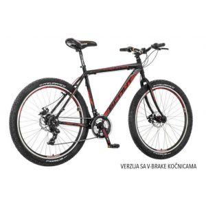 Bicikl Scout Nitro V-Brake 27.5 crno narandžasto sivi 21
