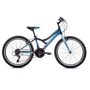 Bicikl Capriolo Diavolo 400 2019 24/18HT sivo-plavo