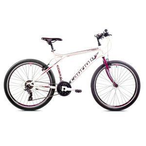 Bicikl Capriolo COBRA 26/21 2019 belo-ljubičasti
