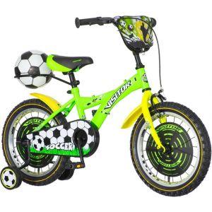 Bicikl Soccer 16 zeleno crni 2018 SOC160