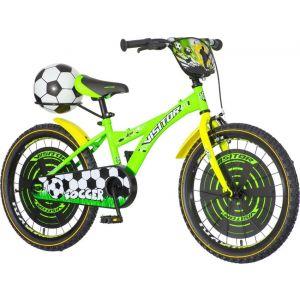 Bicikl Soccer 20 zeleno crni 2018 SOC200