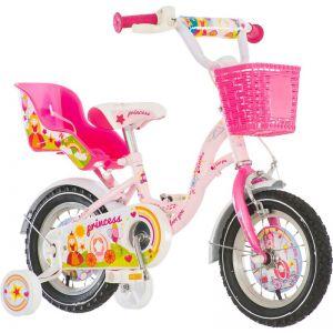 Bicikl Visitor Princess 12 Roza Bela Kontra 2017 EUR1 - PRI120