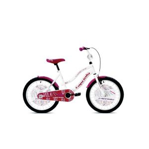Bicikl Capriolo Viola 20 bela 2017