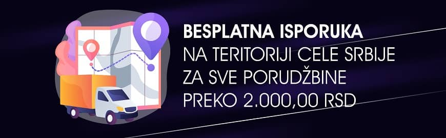 Besplatna Isporuka Bicikli Fitnes sprave oprema delovi Fanatic Bike Srbija